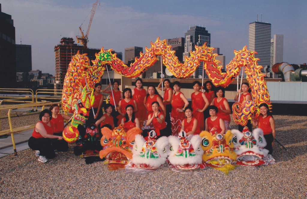 Gund Kwok Asian Women's Lion and Dragon Dance Troupe, Boston, MA