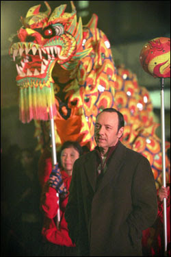 Gund Kwok, on the set of 21 starring Kevin Spacey