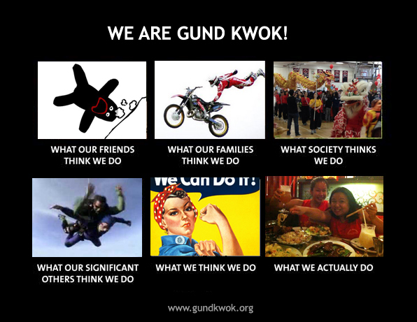We Are Gund Kwok, meme
