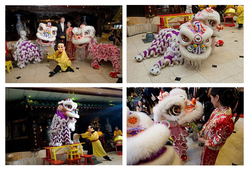Gund Kwok Lion Dance Wedding