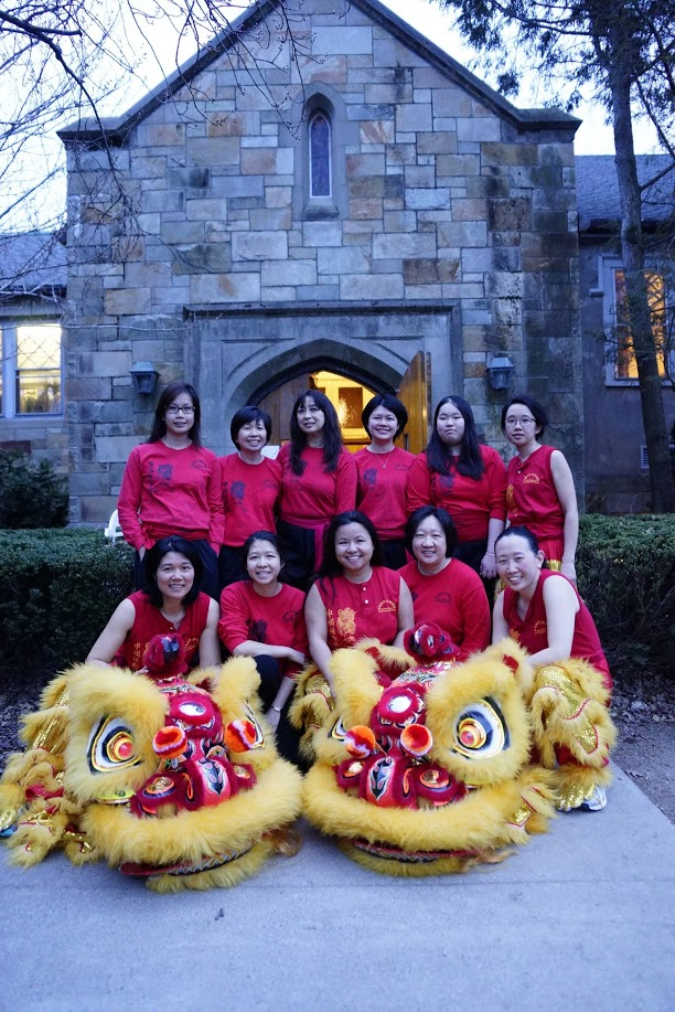 Gund Kwok Asian Women's Lion and Dragon Dance Troupe