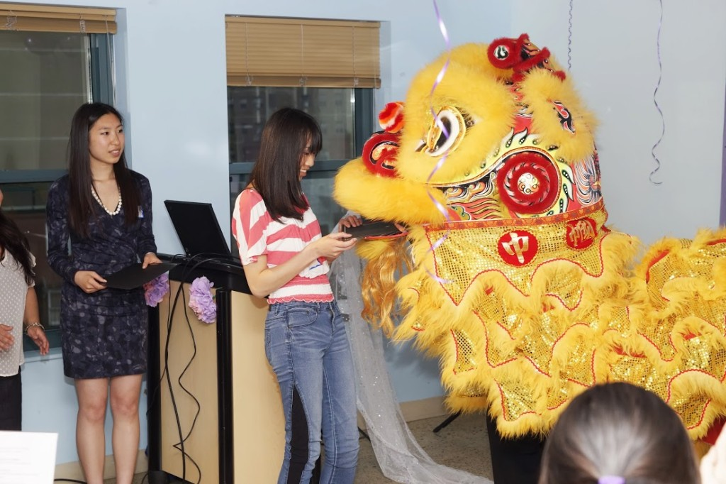 Gund Kwok Asian Women's Lion and Dragon Dance Troupe Scholarship Award Ceremony