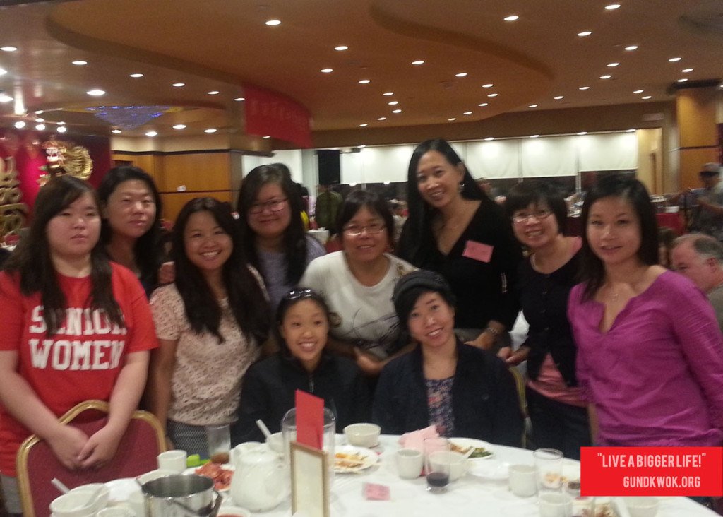 The Ladies of GK at the Kung Fu Federation's Mid-Autumn Festival Celebration