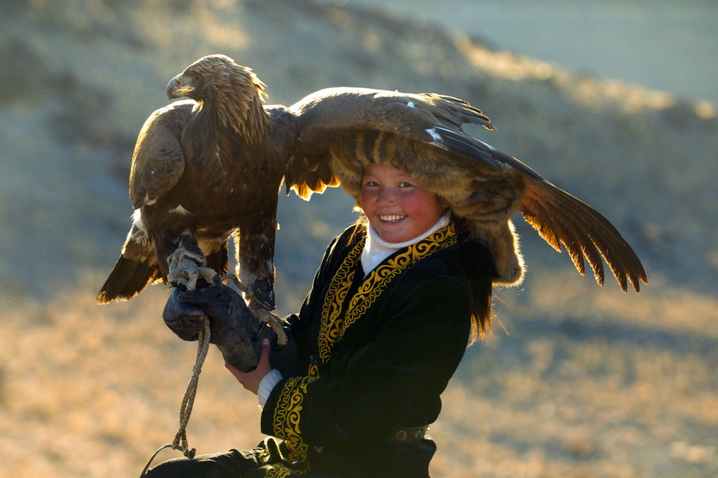 Mongolian girls becoming eagle hunters to help keep ancient tradition dominated by men alive