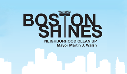 Boston Shines Neighborhood Cleanup: Chinatown Saturday, May 10th