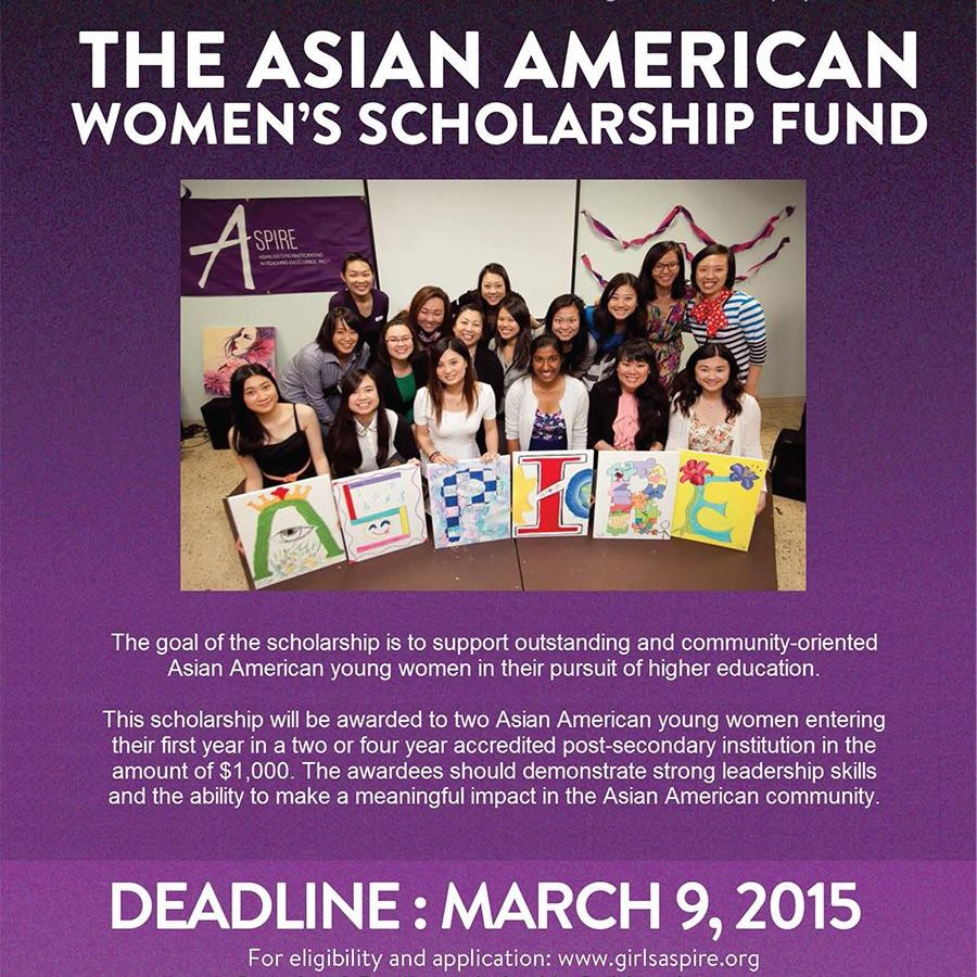 ASPIRE's Asian American Women's Scholarship Fund