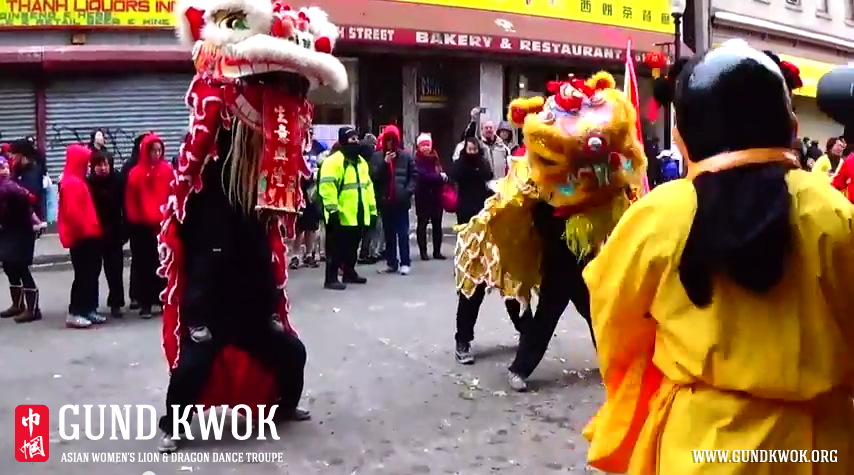 2015 Boston Chinatown Lunar New Year Lion Parade