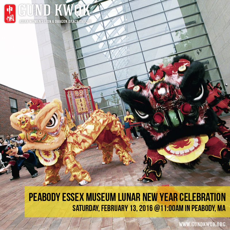 GUND KWOK, Asian Women's Lion & Dragon Dance Troupe | Boston, MA USA
